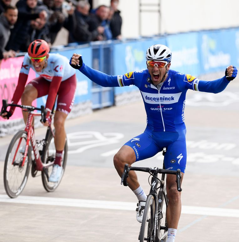Philippe Gilbert won Parijs-Roubaix