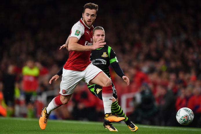Arsenal's Calum Chambers.