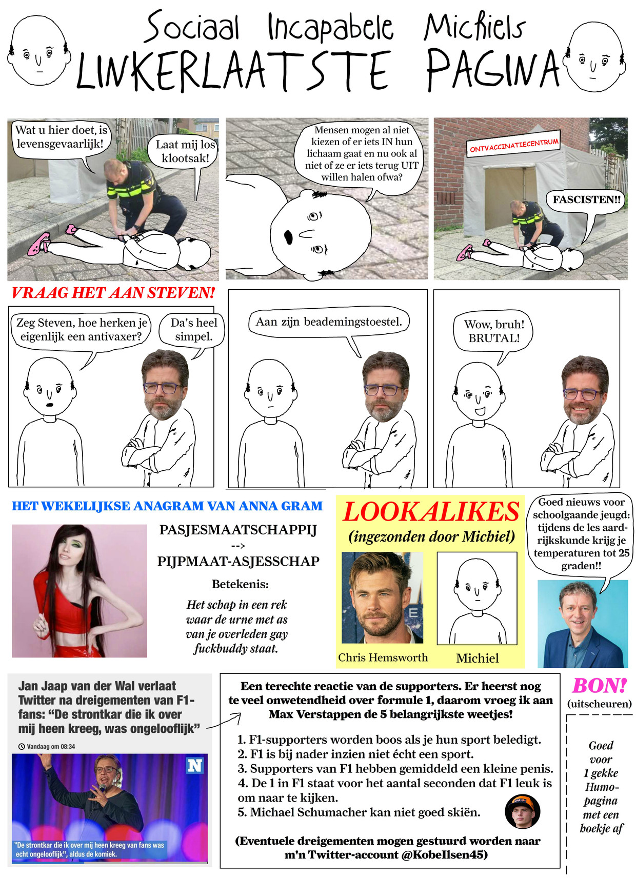 Sociaal Incapabele Michiel 36 Beeld Tom Borremans | Humo