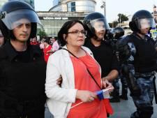 Recht op demonstratie in Rusland afgelopen jaren schrikbarend ingeperkt