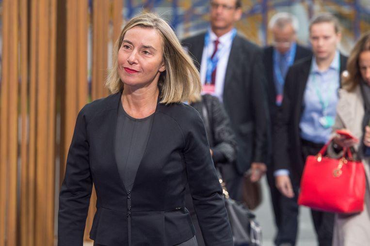Frederica Mogherini (EU) Beeld AFP
