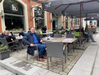 """Burgemeester steunt horeca en handelaars in Scherpenheuvel: """"We moeten nog even volhouden"""""""