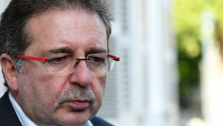 Brussels minister-president Rudi Vervoort (PS). Beeld photo_news