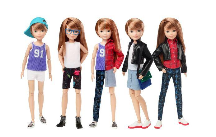 Speelgoedfabrikant Mattel komt met een genderneutrale pop.