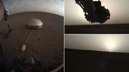 IN BEELD. Zo ziet zonsopgang en zonsondergang op Mars eruit