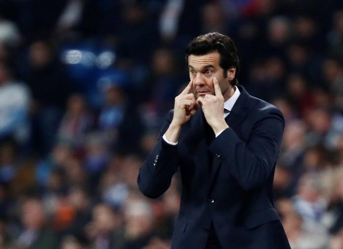 Real Madrid-coach Santiago Solari.