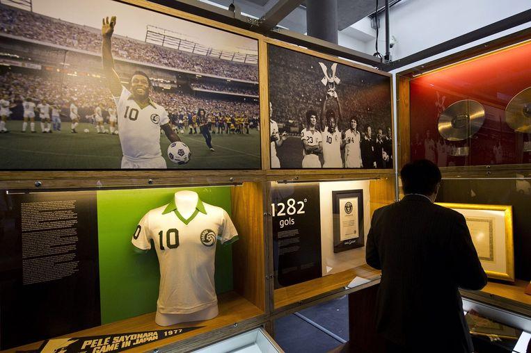Het Pelé-museum Beeld afp