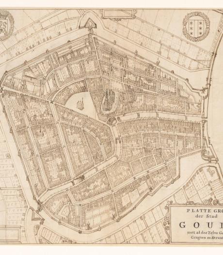 Gouwenaar ontdekt uiterst gedetailleerde historische kaart van Gouda