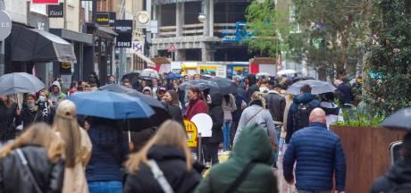 Drukte in Eindhovense binnenstad: 'Kom niet naar de binnenstad'
