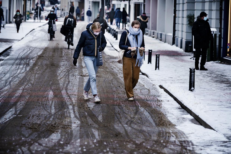 Ook in Gent regeert koning Winter. Beeld © Eric de Mildt