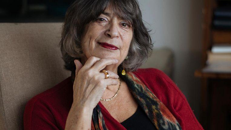 Evelien Gans: 'Ik probeer een weg te vinden tussen alarmisme en ontkenning' Beeld Marc Driessen