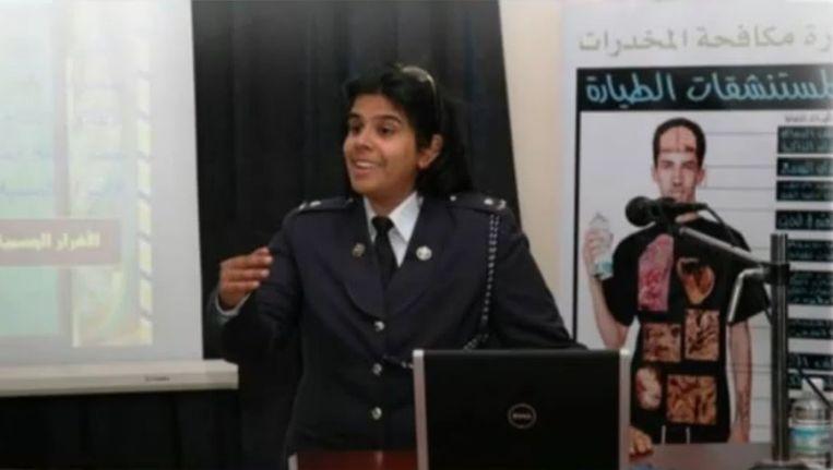 Sjeika Noura bint Ibrahim al-Khalifa Beeld Reuters