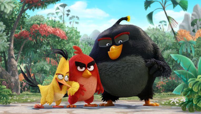 Angry Birds hebben nu ook hun eigen film Beeld Columbia Pictures and Rovio