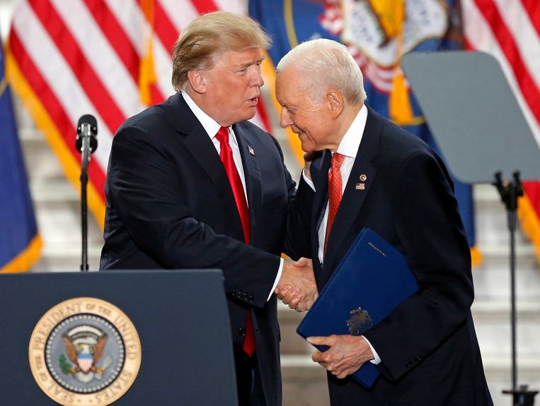 Trump met Hatch begin december in Utah.