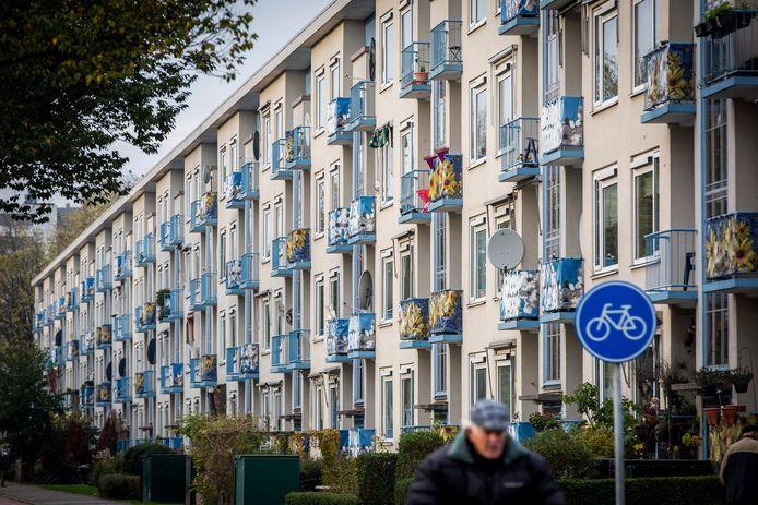 De Haagse wijk Moerwijk.