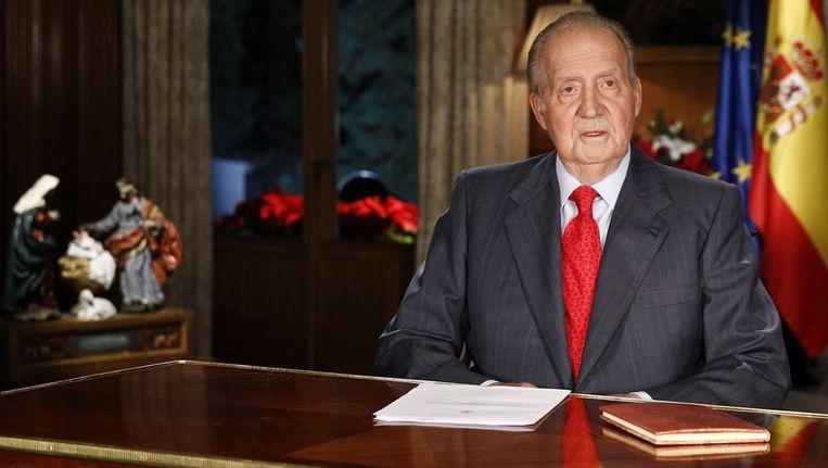 Koning Juan Carlos. Beeld epa