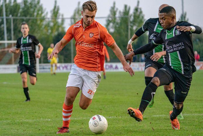 Wimilio Vink voetbalt volgend seizoen in het blauw-wit van Spakenburg.