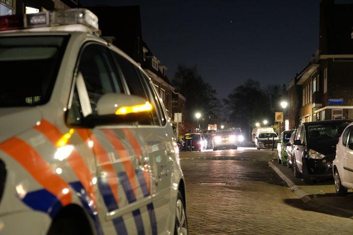De tieners werden al snel na de overval op een woning in de Verheijstraat in Vlaardingen opgepakt.