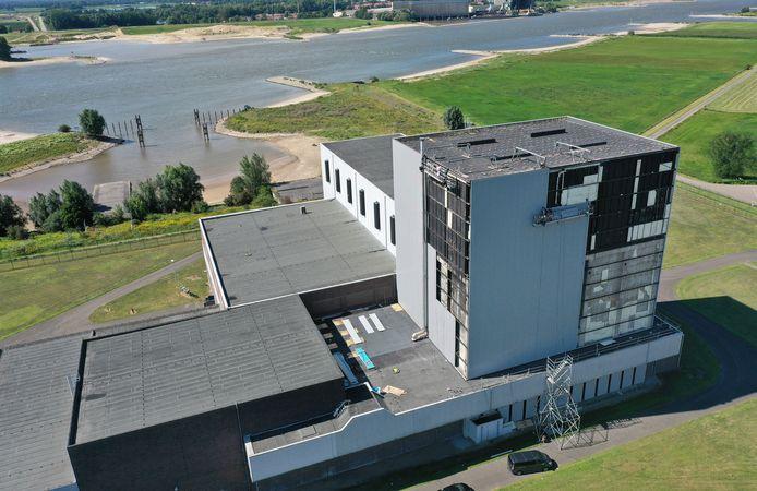 De oude kerncentrale in Dodewaard.