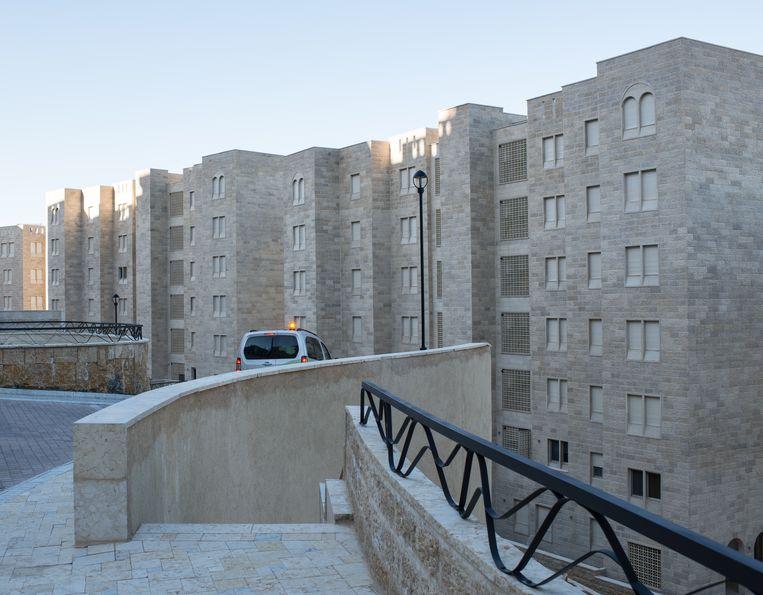 Baladia is een spookstad, speciaal gebouwd door het Israëlische leger als oefenterrein Beeld Ad van Denderen