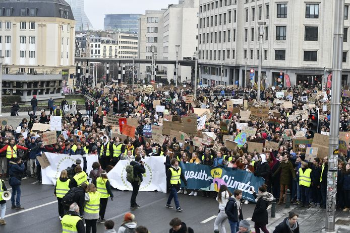 In de marge van de klimaatbetogingen vraagt TOPE 8920 een klimaatplan voor Langemark-Poelkapelle.