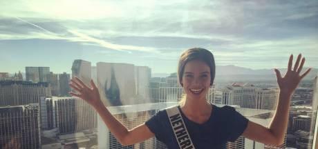 Nicky Opheij uit Handel wordt Miss Universe, verwacht haar familie