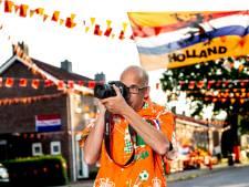 Behalve voor brand rukt Apeldoorner nu ook uit om vrolijke beelden maken: 'Oranjekoorts al helemaal te pakken'