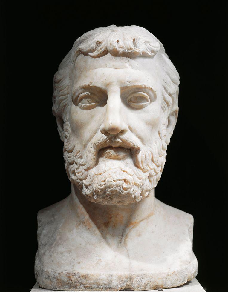 Zeno van Citium, stichter van het stoïcisme. Beeld De Agostini via Getty Images