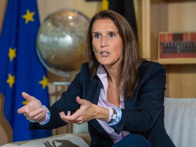 """INTERVIEW. Sophie Wilmès (MR) verliet deze week boos de onderhandelingstafel: """"Ik begrijp écht niet waarom sancties voor werklozen taboe blijven"""""""