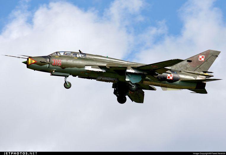 Een Soechoi Su-22. Beeld RV