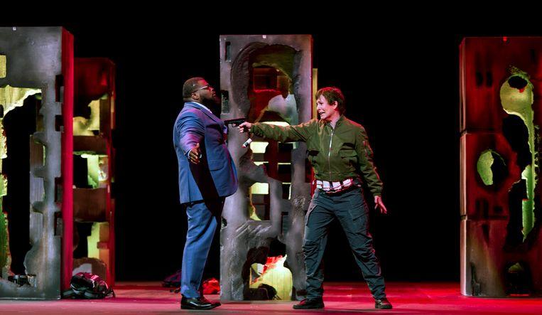 'La Clemenza di Tito' van Peter Sellars. Beeld RV Ruth Walz