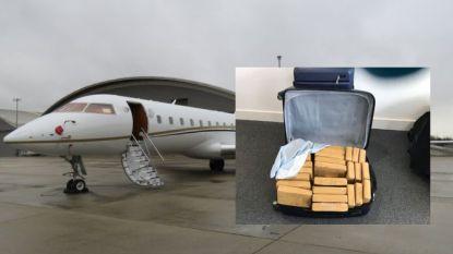 Britse autoriteiten ontdekken halve ton cocaïne in privéjet, goed voor bijna 57 miljoen euro