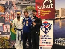 Karateka's Mossel-Boot verdienen medailles
