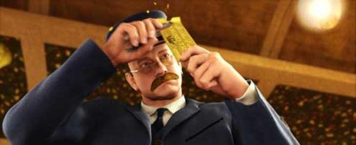 Tom Hanks dans Le Pôle Express.