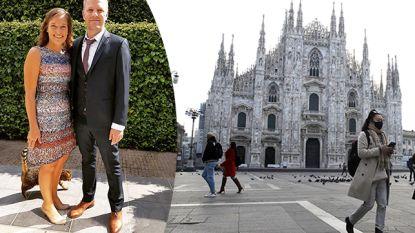 """Vlaamse in Milaan: """"Nog geen gehamster in onze supermarkt"""""""