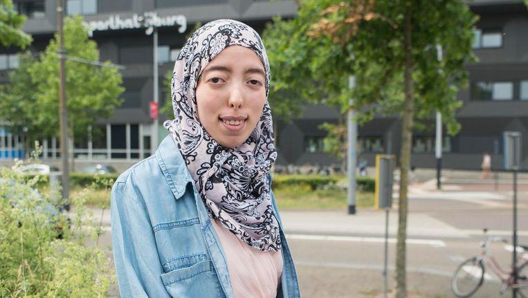 Yasmine Akhatou: 'Je kunt zo veel voor mensen betekenen.' Beeld Charlotte Odijk