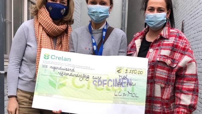 Ladies Circle Mol schenken bijna tienduizend euro aan het goede doel