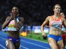 Dina Asher-Smith schrijft Dafne Schippers niet af voor Spelen: 'Ik zie haar zeker nog als kanshebber'