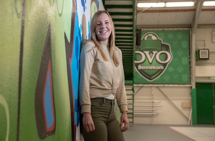 Janine van Schie speelde enkele seizoenen voor DVO, maar kiest nu voor Tiel'72.