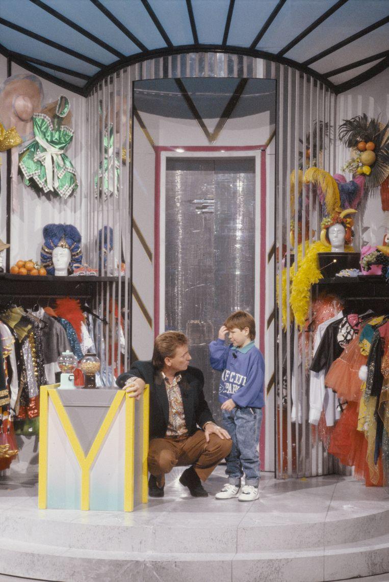 Henny Huisman in de Mini Playbackshow Beeld ANP