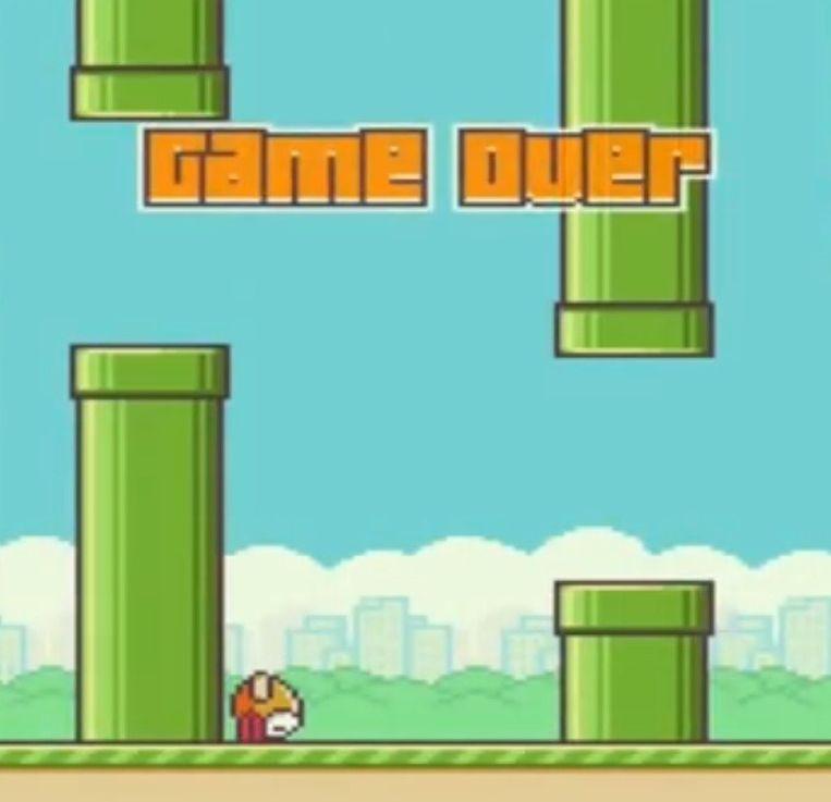 null Beeld Screenshot Flappy Bird