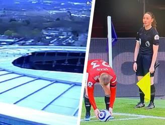 Blote benen van vrouwelijke ref? Dan kregen Iraanse voetbalfans bij Engelse topper telkens iets anders te zien