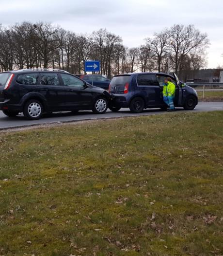 Auto's botsen op A1 bij Holten