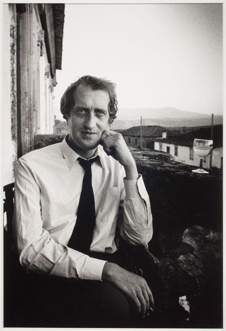 Gerrit Komrij, 1985 Foto Eddy Posthuma de Boer Beeld Eddy Posthuma de Boer