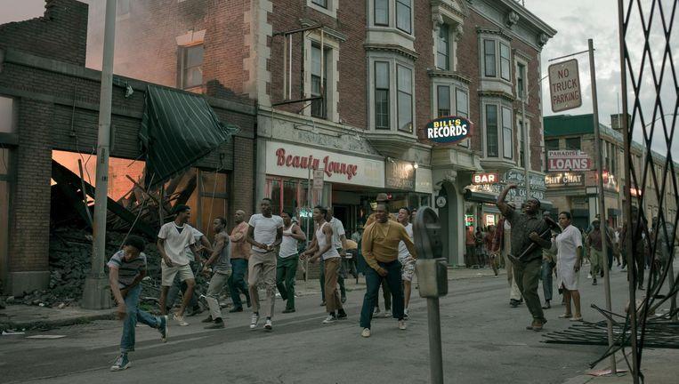 De rellen in 1967 in Detroit van Kathryn Bigelow. Beeld