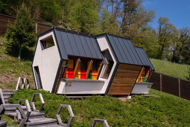 Een Beeland-bungalow. Beeld Josefien Tondeleir