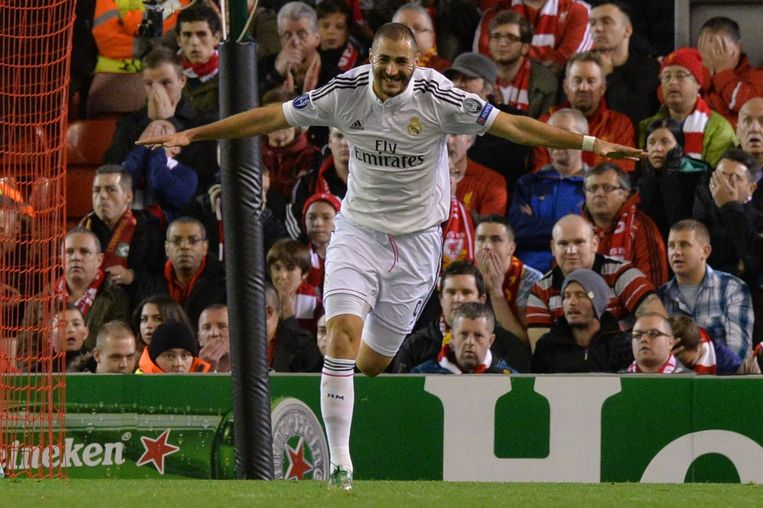 Real Madrid speelt vanavond opnieuw tegen Liverpool Beeld afp