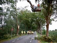 Hulp uit Cuijk voor stormschade Overloon