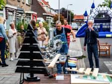 Meer animo voor Burendag dan ooit tevoren: in Deventer buurt knutselen ze alvast kerstbomen