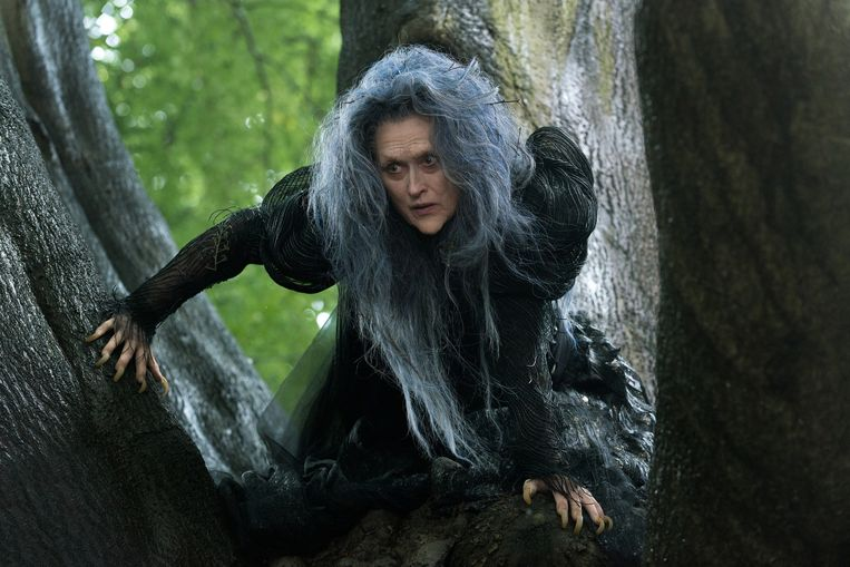 Meryl Streep in 'Into the Woods'. Beeld rv